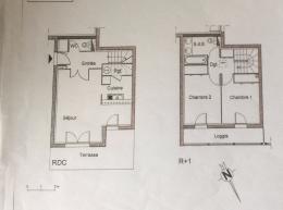 Appartement Garidech &bull; <span class='offer-area-number'>61</span> m² environ &bull; <span class='offer-rooms-number'>3</span> pièces