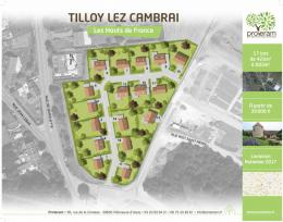 Achat Terrain Tilloy Lez Cambrai