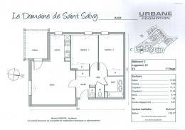 Appartement Daux &bull; <span class='offer-area-number'>63</span> m² environ &bull; <span class='offer-rooms-number'>3</span> pièces