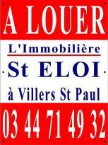 Location Appartement 2 pièces Villers St Paul