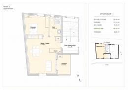 Achat Appartement 2 pièces La Tour du Pin