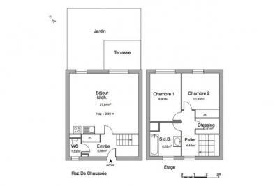 Maison Lannion &bull; <span class='offer-area-number'>69</span> m² environ &bull; <span class='offer-rooms-number'>3</span> pièces