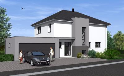 Maison Durmenach &bull; <span class='offer-area-number'>145</span> m² environ &bull; <span class='offer-rooms-number'>6</span> pièces