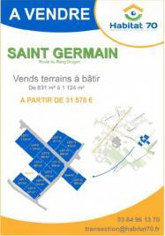 Terrain St Germain &bull; <span class='offer-area-number'>831</span> m² environ