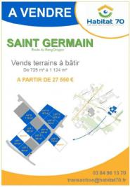 Terrain St Germain &bull; <span class='offer-area-number'>725</span> m² environ
