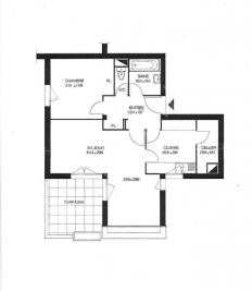 Appartement Lisses &bull; <span class='offer-area-number'>56</span> m² environ &bull; <span class='offer-rooms-number'>2</span> pièces
