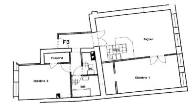 Appartement Ste Marie aux Mines &bull; <span class='offer-area-number'>70</span> m² environ &bull; <span class='offer-rooms-number'>3</span> pièces