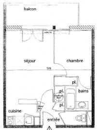 Appartement Coutras &bull; <span class='offer-area-number'>33</span> m² environ &bull; <span class='offer-rooms-number'>2</span> pièces