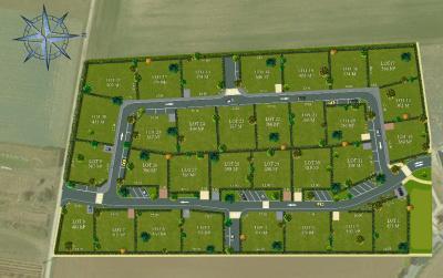 Terrain Cire d Aunis &bull; <span class='offer-area-number'>402</span> m² environ