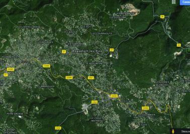 Terrain Roquefort les Pins &bull; <span class='offer-area-number'>1 030</span> m² environ