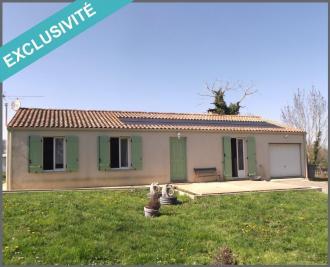 Maison St Hilaire de Villefranche &bull; <span class='offer-area-number'>130</span> m² environ &bull; <span class='offer-rooms-number'>6</span> pièces