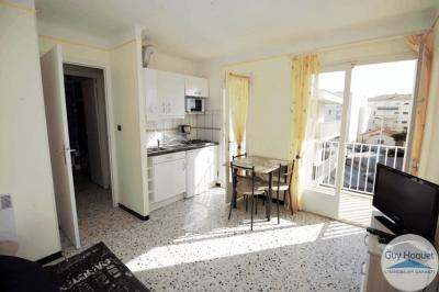 Appartement Canet en Roussillon &bull; <span class='offer-area-number'>21</span> m² environ &bull; <span class='offer-rooms-number'>1</span> pièce