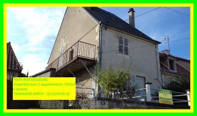 Maison Sauvigny les Bois &bull; <span class='offer-area-number'>102</span> m² environ &bull; <span class='offer-rooms-number'>6</span> pièces