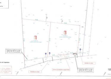 Terrain Villetelle &bull; <span class='offer-area-number'>400</span> m² environ