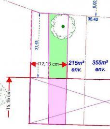 Terrain Cesson Sevigne &bull; <span class='offer-area-number'>215</span> m² environ