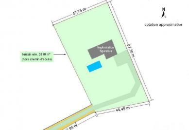 Terrain St Etienne de Chigny &bull; <span class='offer-area-number'>4 327</span> m² environ