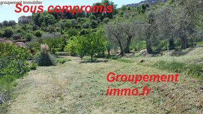 Terrain Chateauneuf Villevieille &bull; <span class='offer-area-number'>1 400</span> m² environ