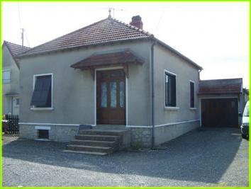 Maison St Florent sur Cher &bull; <span class='offer-area-number'>60</span> m² environ &bull; <span class='offer-rooms-number'>4</span> pièces