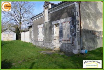 Maison Mezieres en Brenne &bull; <span class='offer-area-number'>50</span> m² environ &bull; <span class='offer-rooms-number'>3</span> pièces