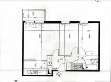 Appartement Meaux &bull; <span class='offer-area-number'>60</span> m² environ &bull; <span class='offer-rooms-number'>3</span> pièces