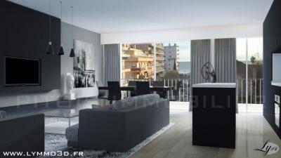 Appartement Juan les Pins &bull; <span class='offer-area-number'>85</span> m² environ &bull; <span class='offer-rooms-number'>3</span> pièces