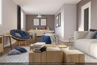Maison Esvres &bull; <span class='offer-area-number'>90</span> m² environ &bull; <span class='offer-rooms-number'>4</span> pièces
