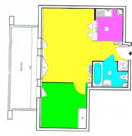 Appartement Bondy &bull; <span class='offer-area-number'>40</span> m² environ &bull; <span class='offer-rooms-number'>2</span> pièces