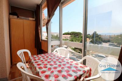 Appartement Canet Plage &bull; <span class='offer-area-number'>22</span> m² environ &bull; <span class='offer-rooms-number'>1</span> pièce
