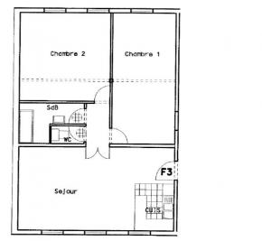 Appartement Ste Marie aux Mines &bull; <span class='offer-area-number'>73</span> m² environ &bull; <span class='offer-rooms-number'>3</span> pièces