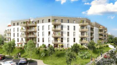 Appartement Blainville sur Orne &bull; <span class='offer-area-number'>46</span> m² environ &bull; <span class='offer-rooms-number'>2</span> pièces