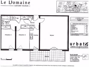 Appartement Castanet Tolosan &bull; <span class='offer-area-number'>72</span> m² environ &bull; <span class='offer-rooms-number'>3</span> pièces