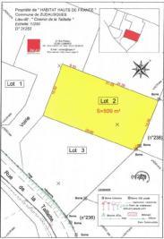 Terrain Zudausques &bull; <span class='offer-area-number'>509</span> m² environ