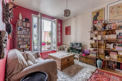 Appartement Paris 18 &bull; <span class='offer-area-number'>40</span> m² environ &bull; <span class='offer-rooms-number'>2</span> pièces