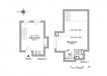 Appartement Guingamp &bull; <span class='offer-area-number'>38</span> m² environ &bull; <span class='offer-rooms-number'>2</span> pièces