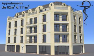 Appartement Challans &bull; <span class='offer-area-number'>82</span> m² environ &bull; <span class='offer-rooms-number'>3</span> pièces