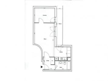 Appartement St Denis &bull; <span class='offer-area-number'>47</span> m² environ &bull; <span class='offer-rooms-number'>2</span> pièces