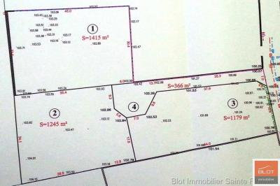 Terrain Agnat &bull; <span class='offer-area-number'>1 245</span> m² environ