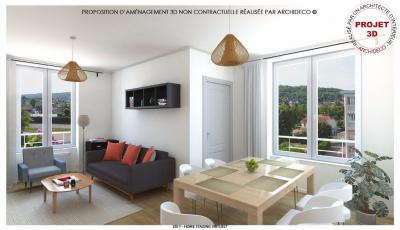 Appartement St Maurice de Beynost &bull; <span class='offer-area-number'>98</span> m² environ &bull; <span class='offer-rooms-number'>5</span> pièces