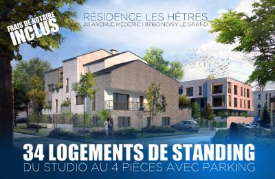 Appartement Noisy le Grand &bull; <span class='offer-area-number'>30</span> m² environ &bull; <span class='offer-rooms-number'>1</span> pièce
