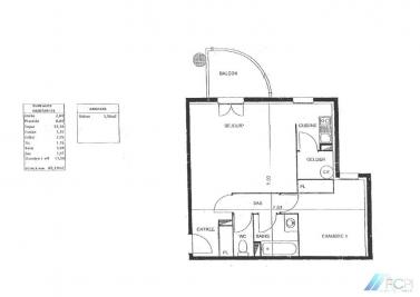 Appartement Montauban &bull; <span class='offer-area-number'>49</span> m² environ &bull; <span class='offer-rooms-number'>2</span> pièces