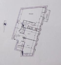Appartement Martillac &bull; <span class='offer-area-number'>64</span> m² environ &bull; <span class='offer-rooms-number'>3</span> pièces