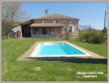 Maison St Nicolas de la Grave &bull; <span class='offer-area-number'>168</span> m² environ &bull; <span class='offer-rooms-number'>7</span> pièces