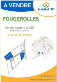 Terrain Fougerolles &bull; <span class='offer-area-number'>830</span> m² environ