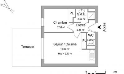 Appartement Montivilliers &bull; <span class='offer-area-number'>29</span> m² environ &bull; <span class='offer-rooms-number'>2</span> pièces