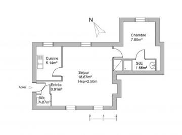 Appartement Reviers &bull; <span class='offer-area-number'>35</span> m² environ &bull; <span class='offer-rooms-number'>2</span> pièces