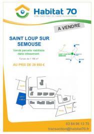 Terrain St Loup sur Semouse &bull; <span class='offer-area-number'>1 198</span> m² environ