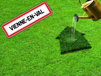 Terrain Vienne en Val &bull; <span class='offer-area-number'>1 637</span> m² environ