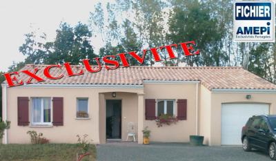 Maison Mervent &bull; <span class='offer-area-number'>84</span> m² environ &bull; <span class='offer-rooms-number'>4</span> pièces