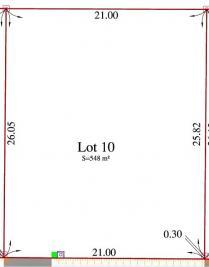 Terrain Lacanau &bull; <span class='offer-area-number'>548</span> m² environ