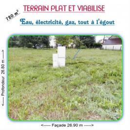 Terrain Bletterans &bull; <span class='offer-area-number'>720</span> m² environ